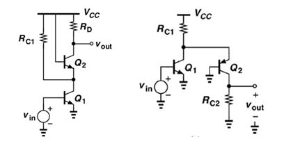 For the two circuits depicted below, draw the sm