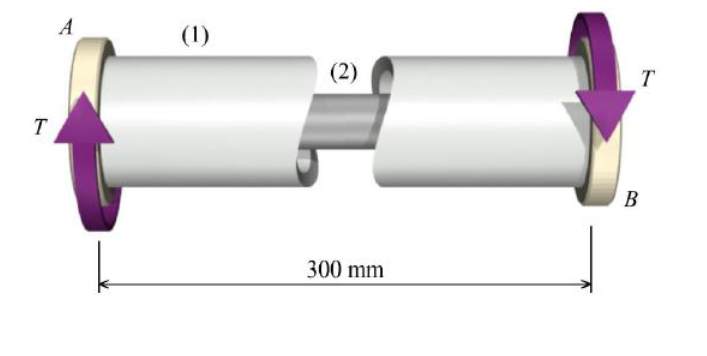 A composite assembly consisting of a steel [G = 80