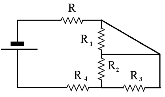 solved  for the circuit below  find the equivalent resista