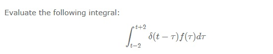 Evaluate the following integral: