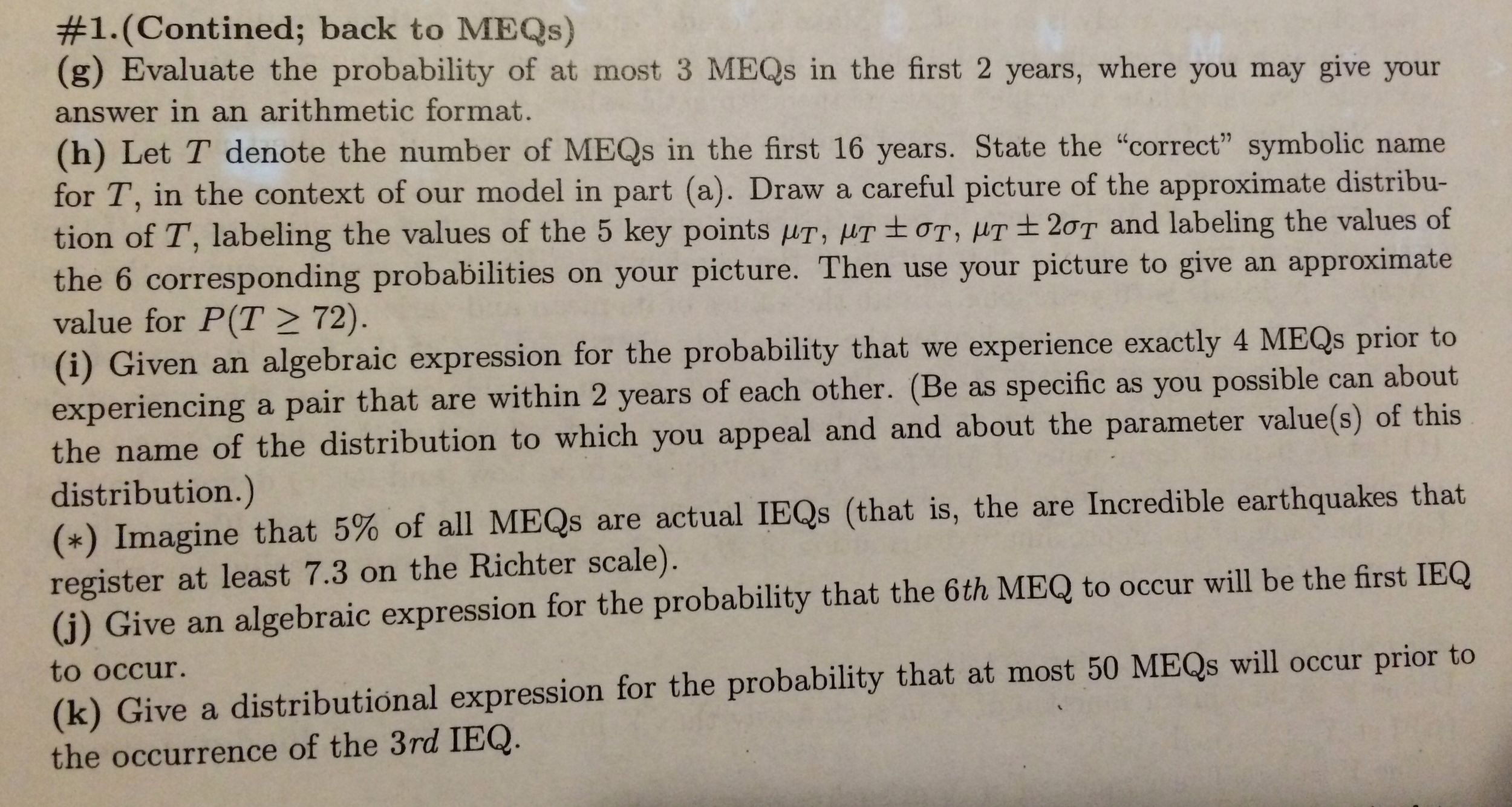 Probability homework