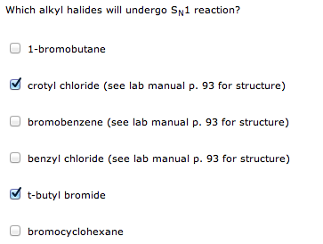 which alkyl halides will undergo sn2 reactions und