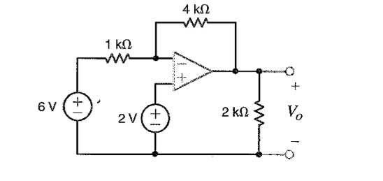 For the circuit shown use the ideal op amp model