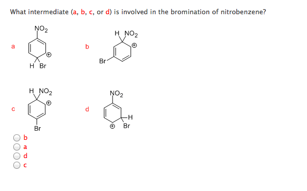What intermediate (a, b, c, or d) is involved in t