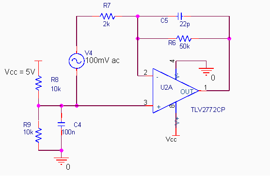 Consider the amplifier circuit shown below. What i