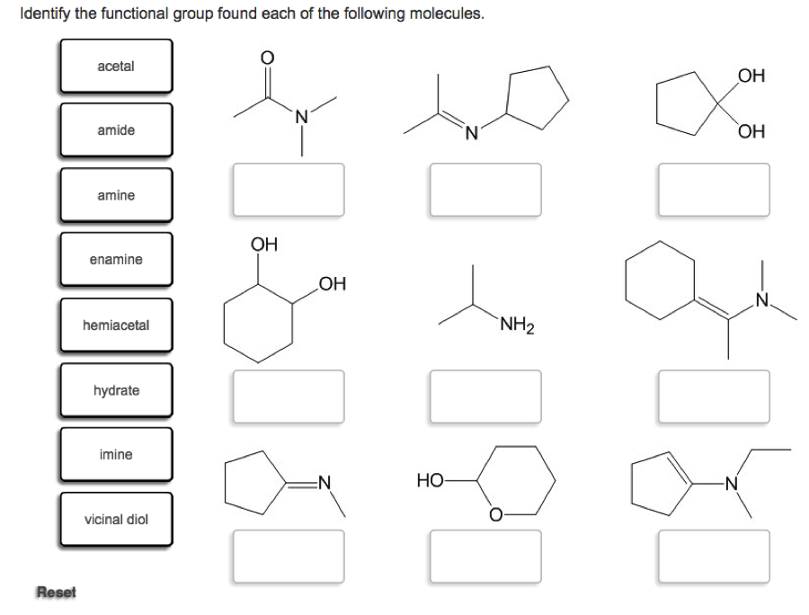 solved identify the functional group found each of the fo. Black Bedroom Furniture Sets. Home Design Ideas
