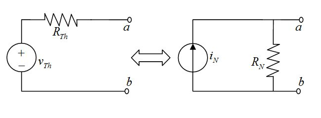 solved  the circuit on the left is equivalent to the circu