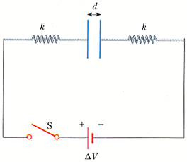 This circuit consists of two identical parallel me