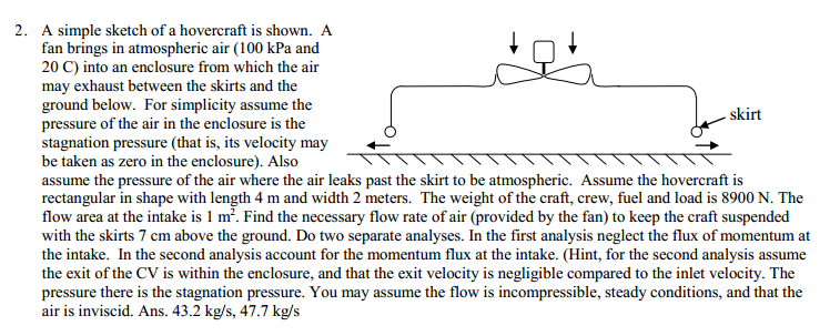 Simple Mechanics Question?