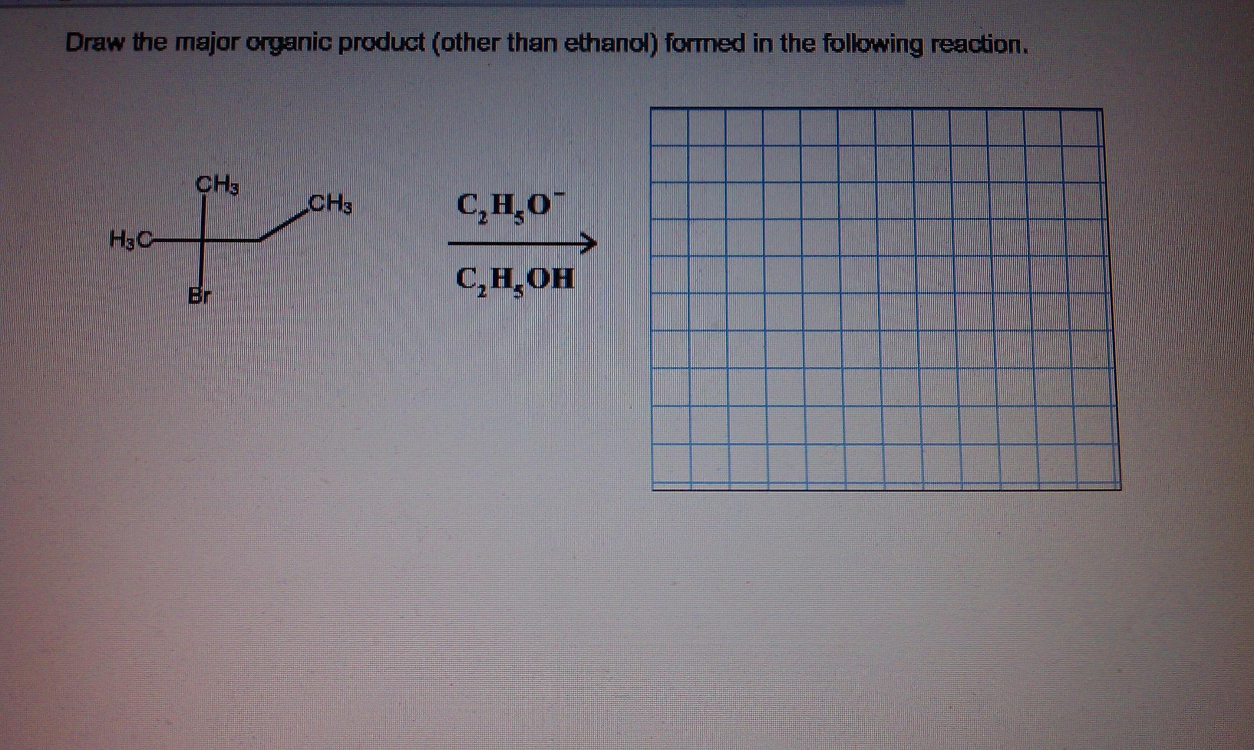 Draw The Skeletal Structure Of Major Organic P Chegg Com