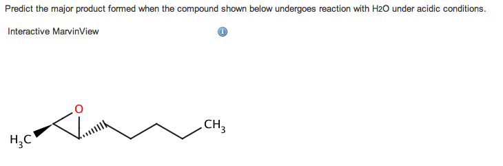 Predict the major product formed when the compound