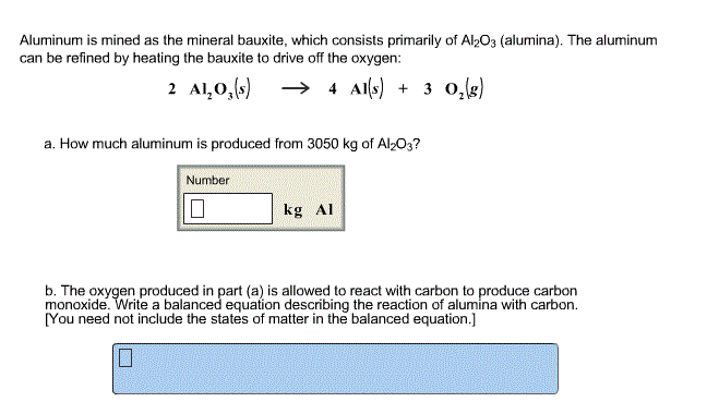 Aluminum is mined as the mineral bauxite, which co