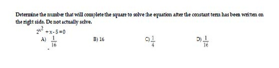 Determine the number that will complete the square