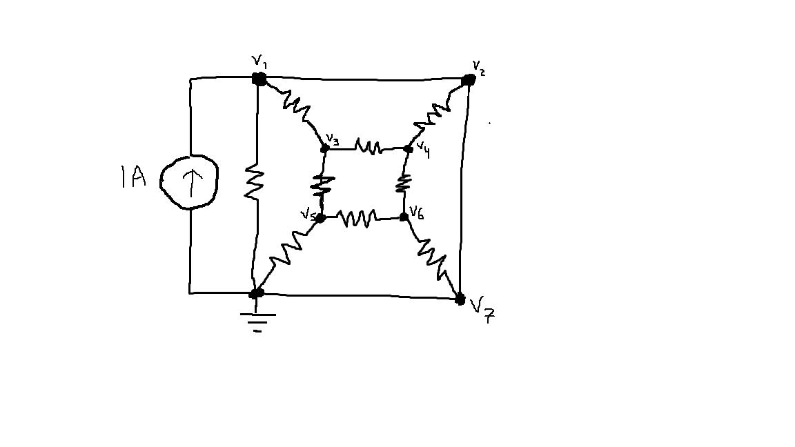consider the circuit shown below  where each resis