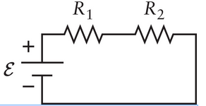 If the current in the circuit shown in the Figure