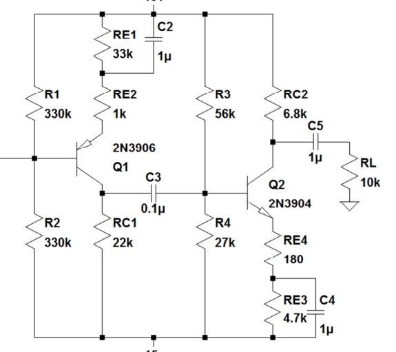 I need to do a DC analysis of the circuit above. I