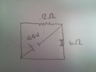 Find the total resistance in the picture shown. Pl