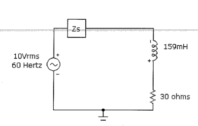 Determine the parallel capacitance (parallel with