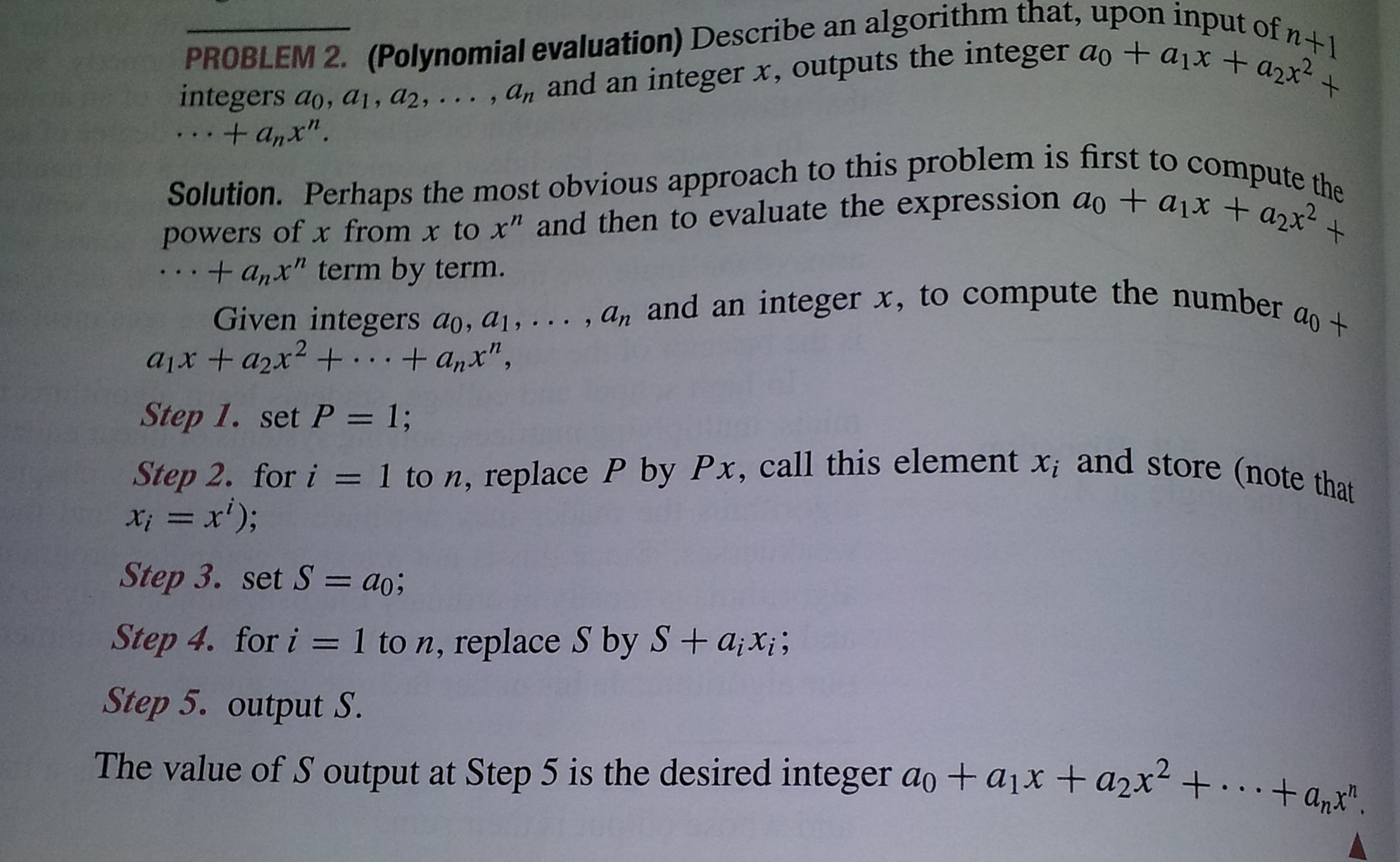integer and polynomial x2