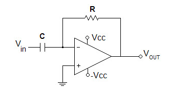 What is the output VOUT in the circuit given below