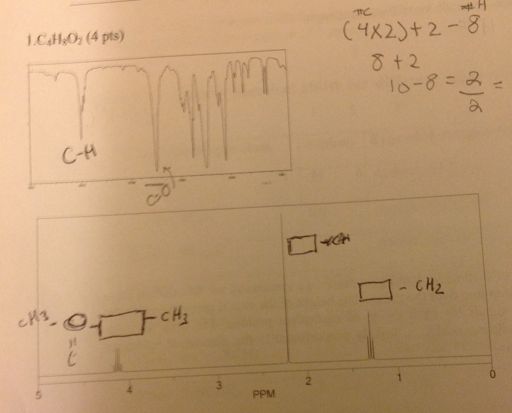 I need to find the actual structure, im given NMR