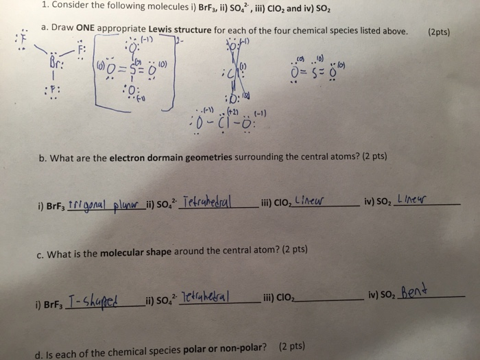 How can I draw the Lewis structure for ClO2-?
