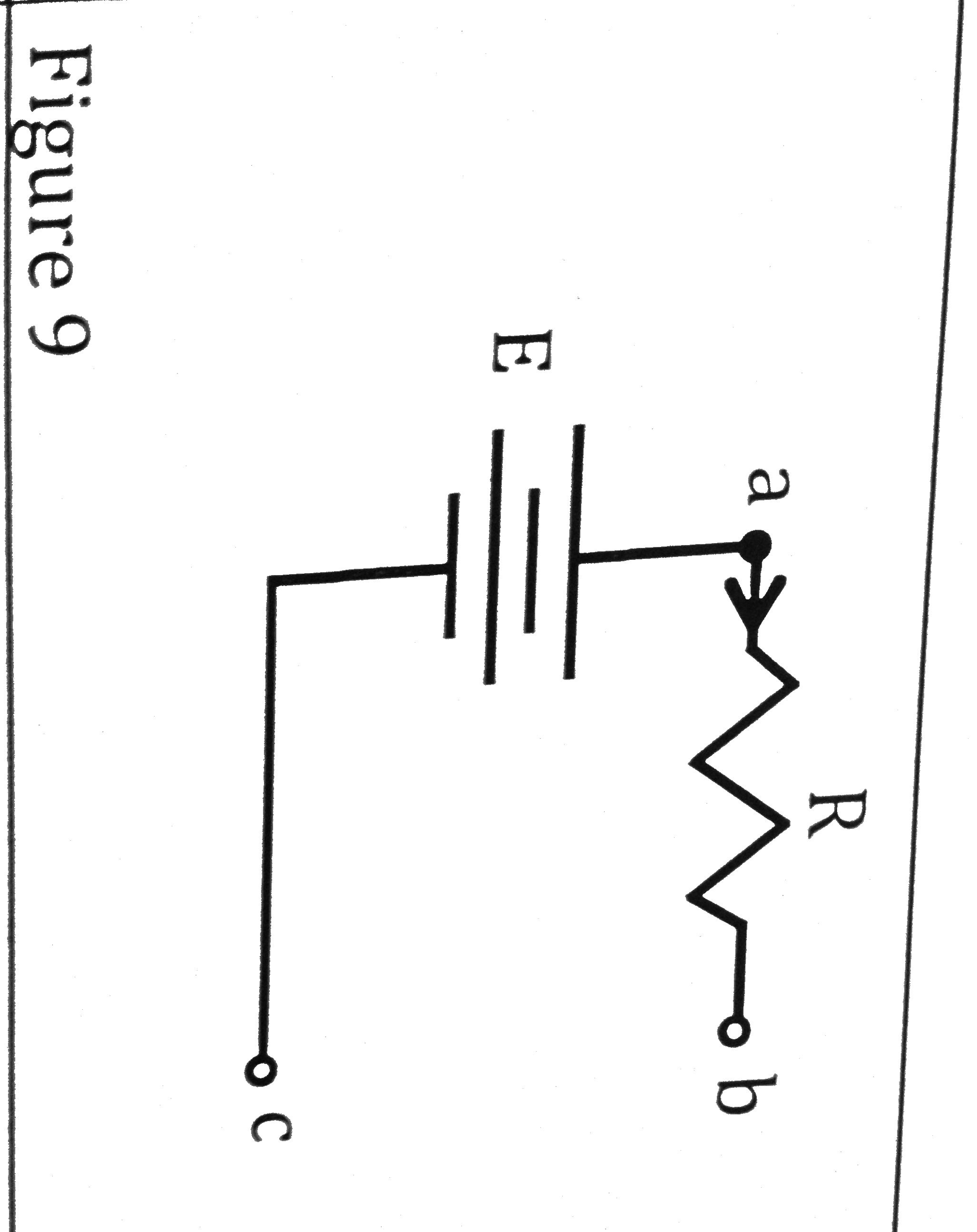 Figure 9 depicts a Thevinen's equivalent battery.