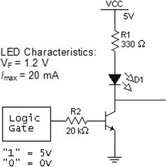 In the figure above, the transistor is used as a b