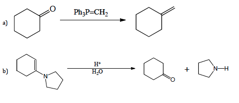 Propose mechanism for the following reactions