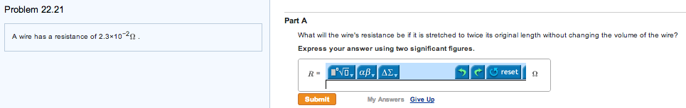 A wire has a resistance of 2.3 times 10-2 Ohm. Wh