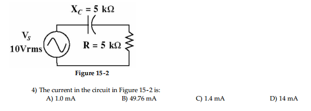 Figure 15-2 The current in the circuit in Figure