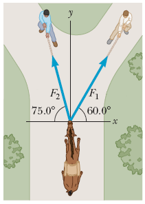 The helicopter view in the figure below shows two