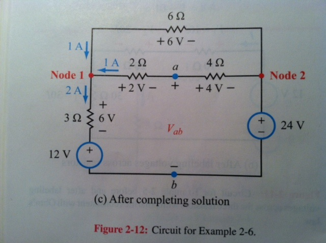 After completing solution Figure 2-12: Circuit fo