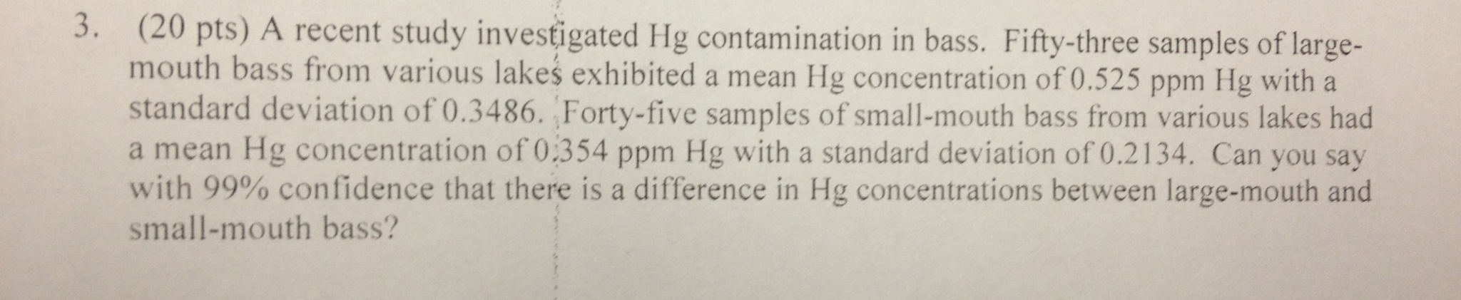 A recent study investigated Hg contamination in ba