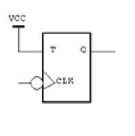 7. Draw the output for the circuit below given the