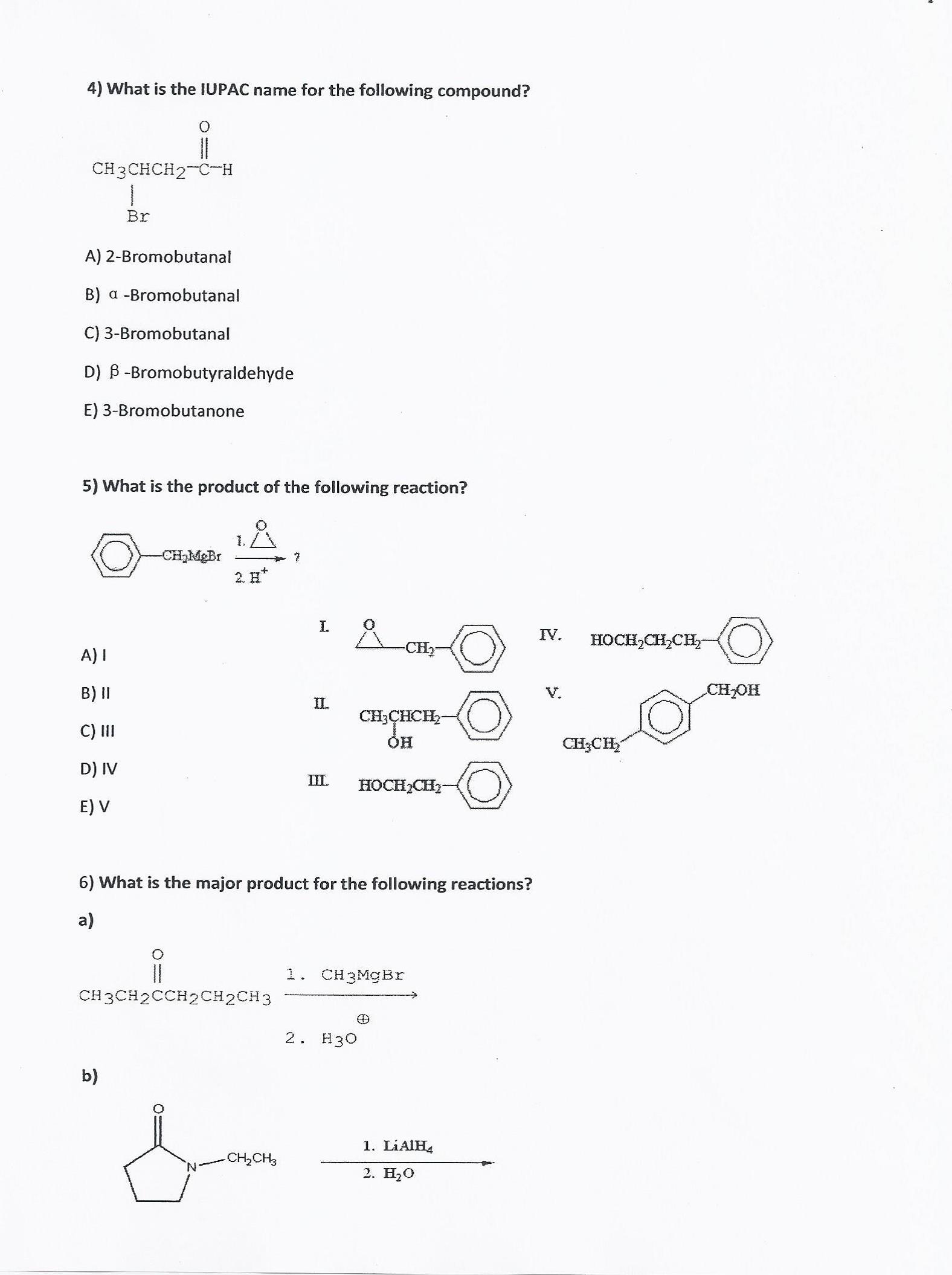 4 bromobutanone