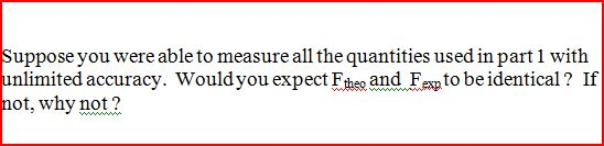 Suppose you were able to measure all the quantitie