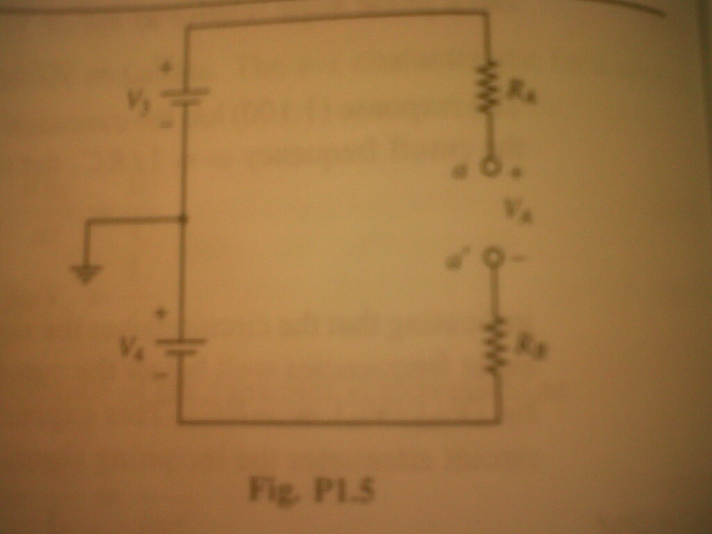 Consider the circuit of Fig. P1. 14 with V1 = 12V,