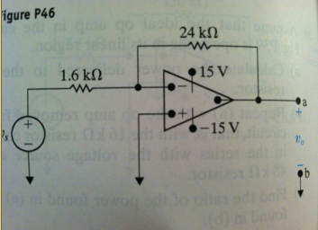 a. Find the Thevenin equivalent circuit with respe