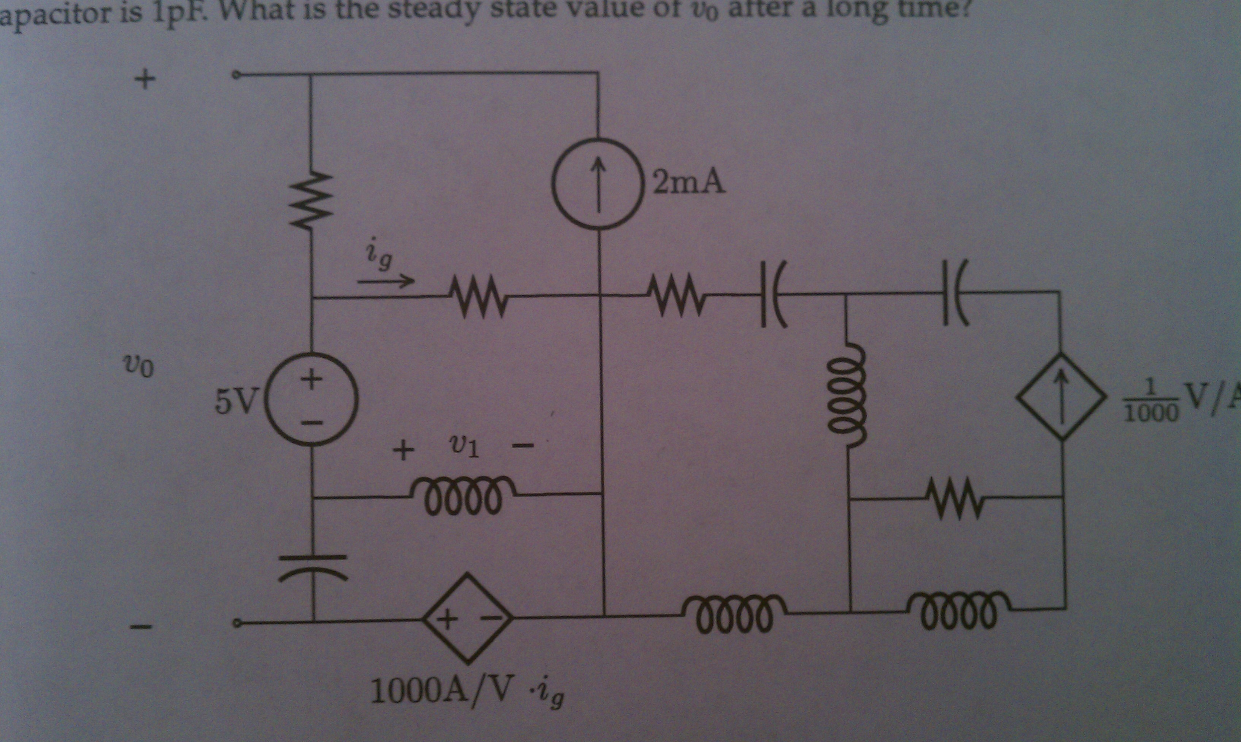 Consider the circuit . Assume that each of the re
