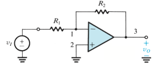 Using the circuit of Fig. 2.5 and assuming an idea