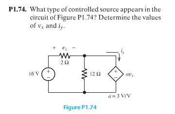 What type of controlled source appears in the circ
