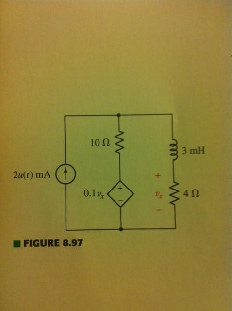 Refer to the circuit of Fig. 8. 97, which contains