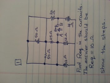 Find Req in the circuits The answer should be Req