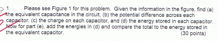 Please see Figure 1 for this problem. Given the in