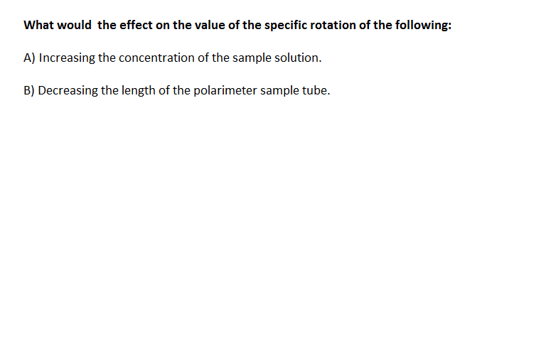 What would the effect on the effect on the value o