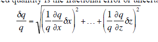Using the equation deriva a formula for the relat