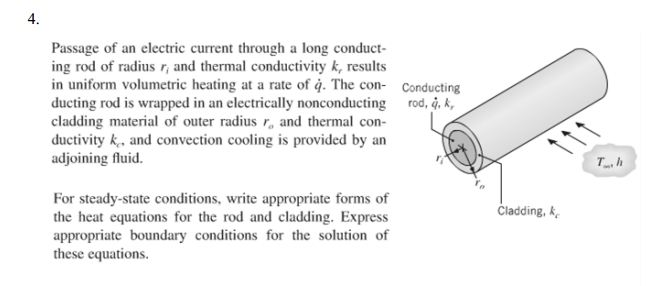 Passage of an electric current through a long cond