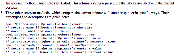 The Spinner class is a more generalized version of