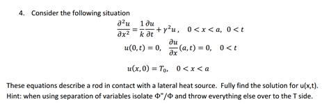 Consider the following situation These equations d